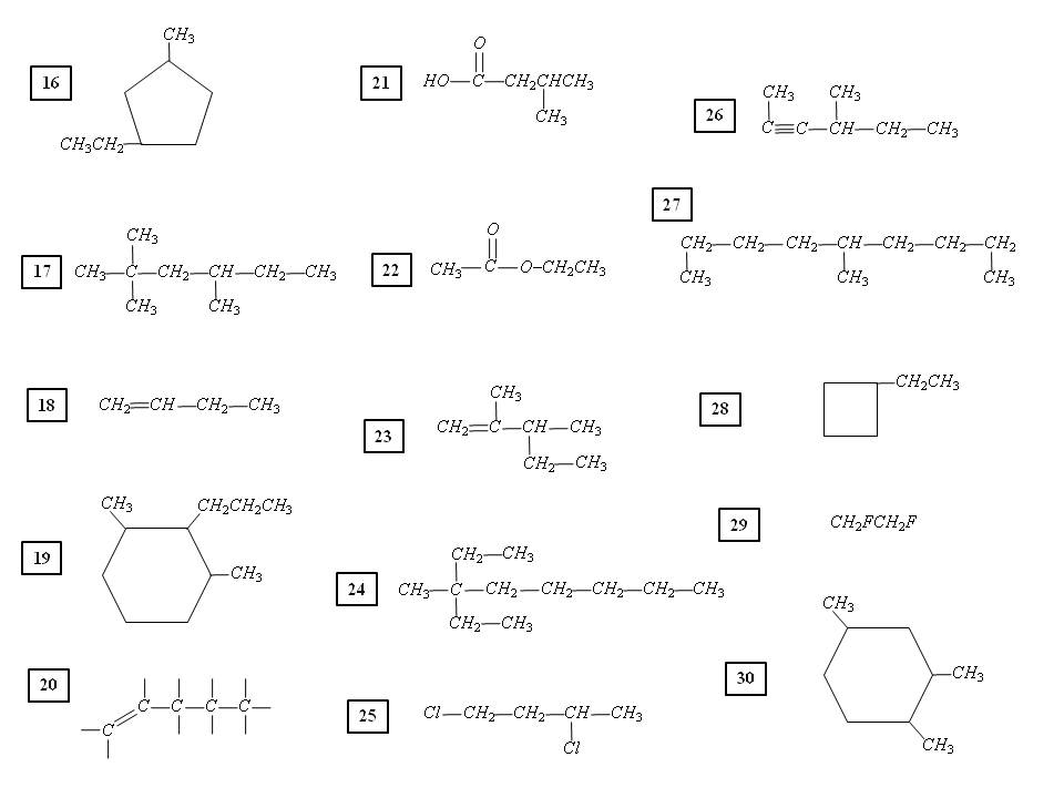 Worksheets Organic Nomenclature Worksheet organic chemistry d